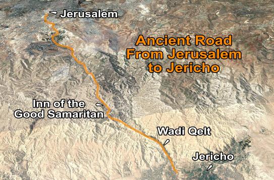 Inn of Good Samaritan Road Map.png