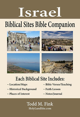 Israel Biblical Sites Bible Companion (L