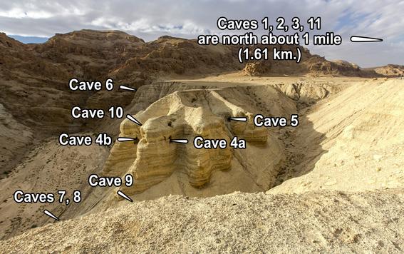 Qumran Cave Locations by Qumran.png