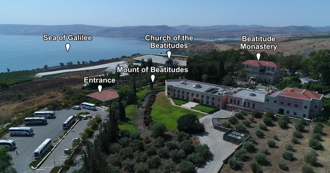 Mt. of Beatitudes Places of Interest (Me