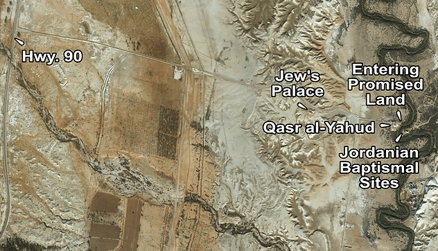 Qsar al Yahud Places of Interest (Medium
