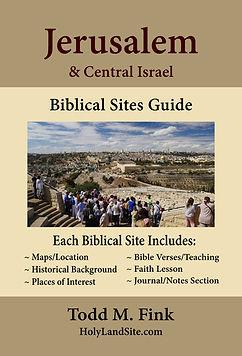 Digital Book Cover Front - Jerusalem Boo