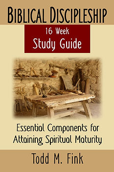 Biblical Discipleship Study Guide Front