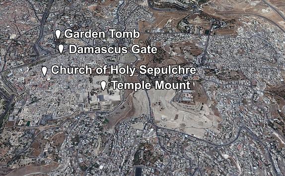 Garden Tomb Places of Interest (Medium).