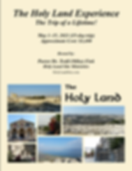 The Holy Land Experience General Brochur
