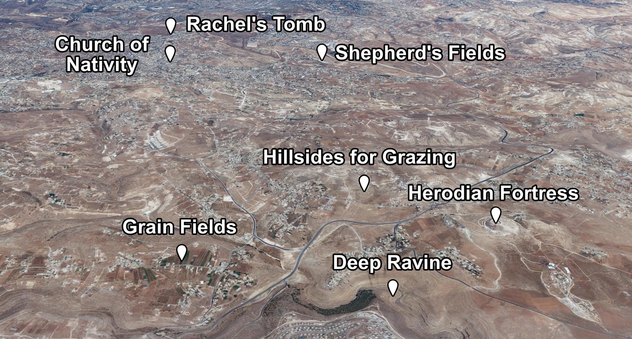 Bethlehem Overview Places of Interest.pn