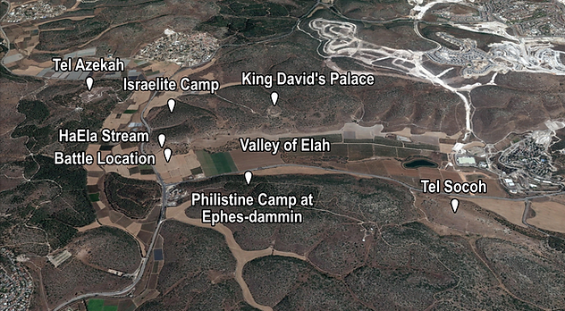 Valley of Elah Places of Interest (Mediu