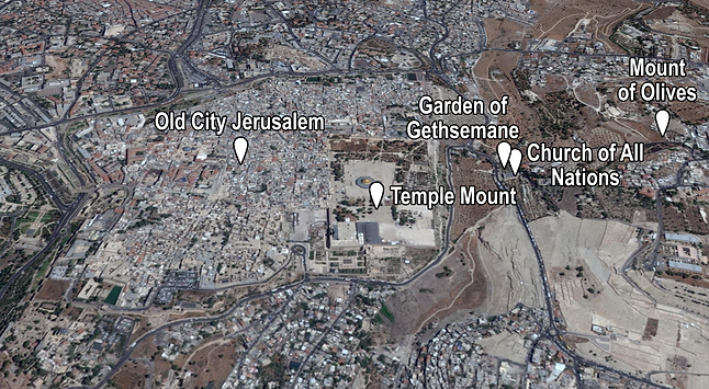 Garden of Gethsemane Places of Interest