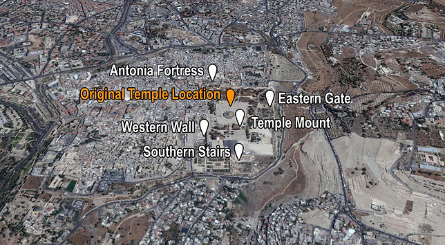 Temple Mount Overview Places of Interest