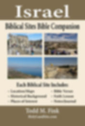 Israel Biblical Sites Bible Companion (M