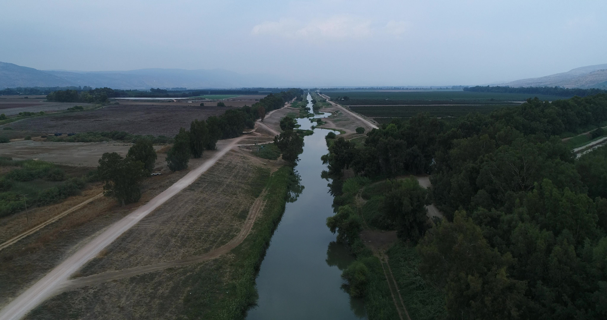 Jordan River by Viewing Area 2