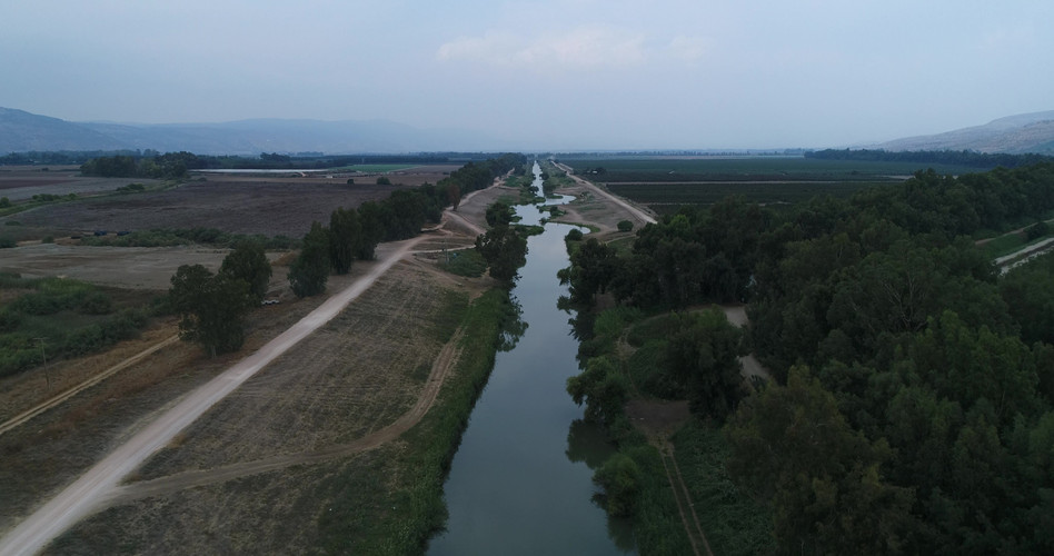Jordan River by Viewing Area 2