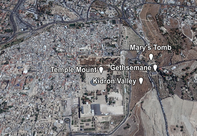 Mary's Tomb Places of Interest (Medium).