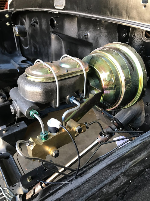 """ClassicTube Master Cylinder W 8"""" or 9"""" Dual Booster"""