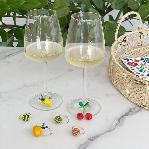 Iraca Fruit Wine Charms - 6 pack