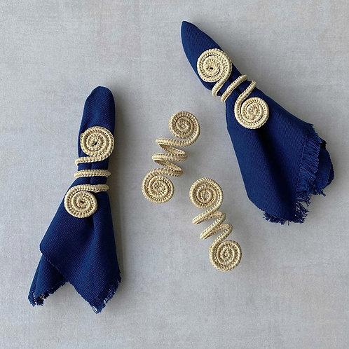 Iraca Caracol Napkin Rings