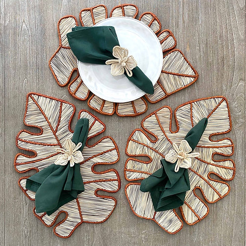 Iraca Leaf Placemat Natural