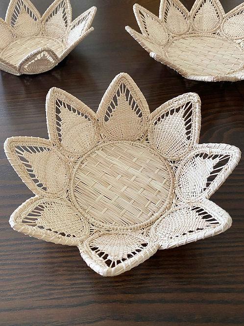 Iraca Sunflower Basket
