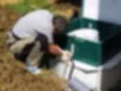 аквалос, септик, автономная канализация, монтаж