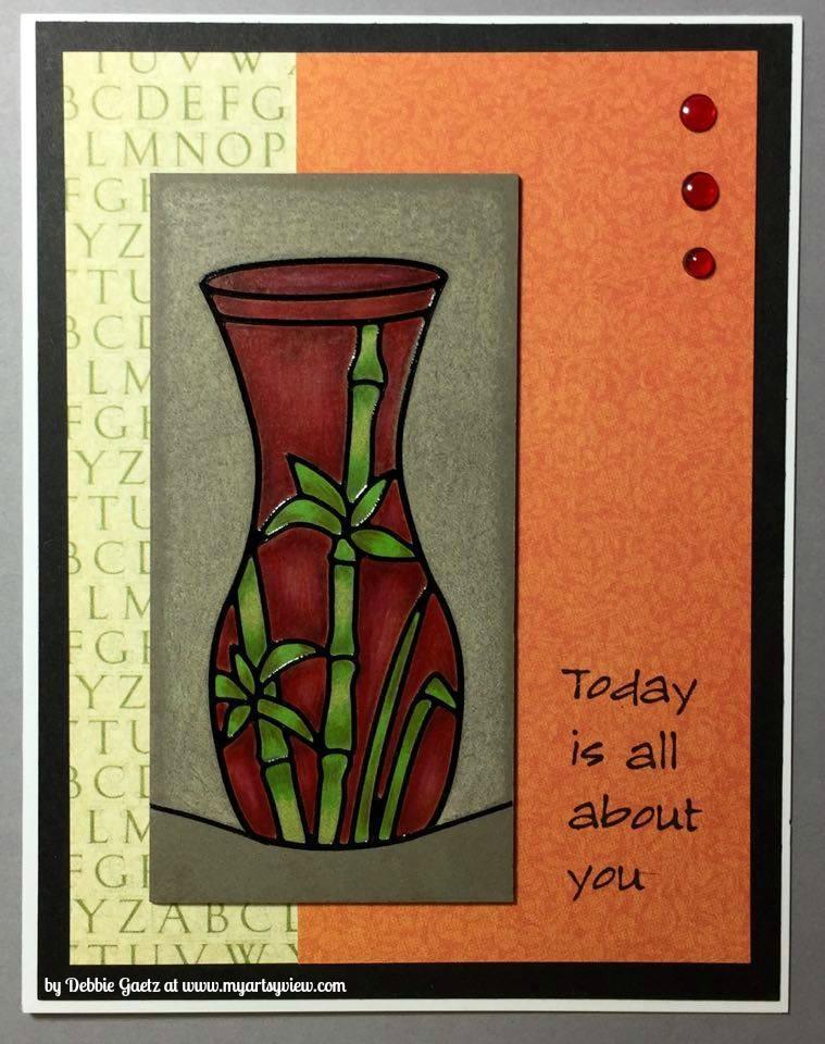 Elizabeth Craft Designs, Inchie Arts, Magenta Style, Prismacolor Colored Pencils, Graphic 45, VersaFine, Queen & Co.