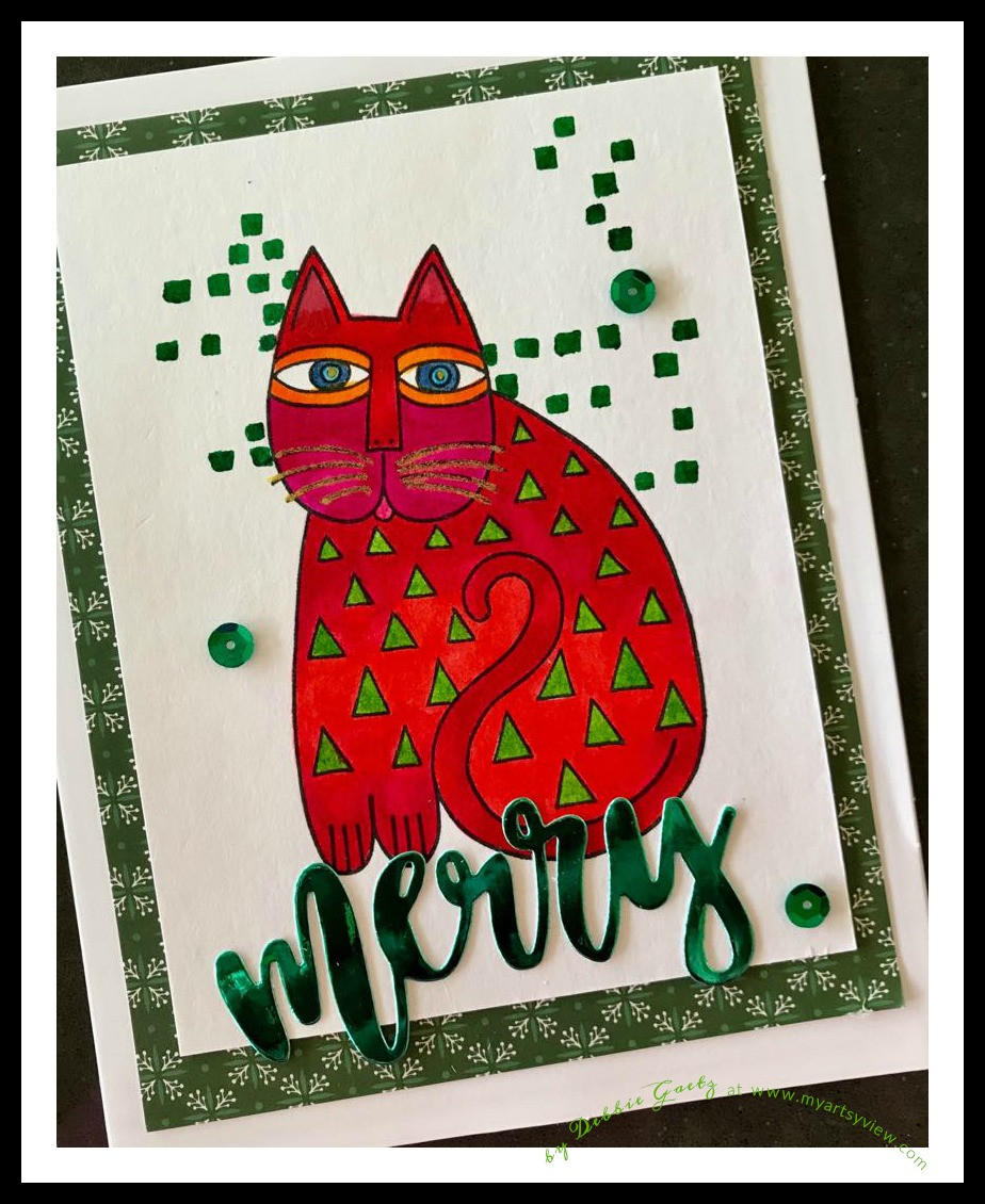 Stampendous, Laurel Burch Designs, Concord & 9th, Die Cutting, Copic Markers