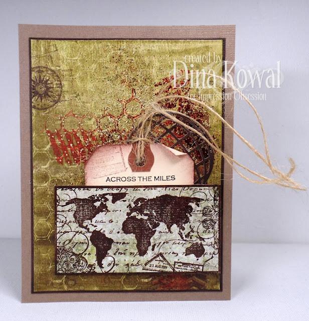 Impression Obsession, Dina Kowal, Masculine Card Design