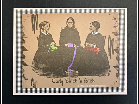Lost Coast Designs' Early Stitch 'n B*!#?