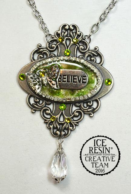 Embellished Dreams, Heide Blankenship, Ice Resin