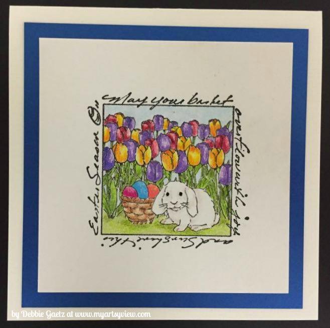 Art Impressions, Prismacolor, Sakura, Inchie Arts, So Silk Card Stock, Easter