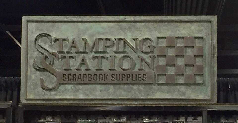 Stamping Station, Scrapbook Paper Organization