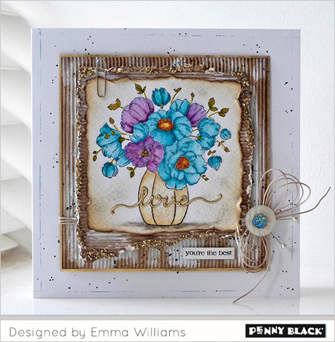 Penny Black Stamps, Emma Williams