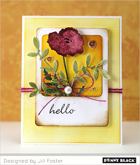 Penny Black stamps, Jill Foster