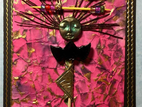 Vesta Abel's Spirit Doll Greeting Card