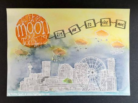 Moonie Postcard