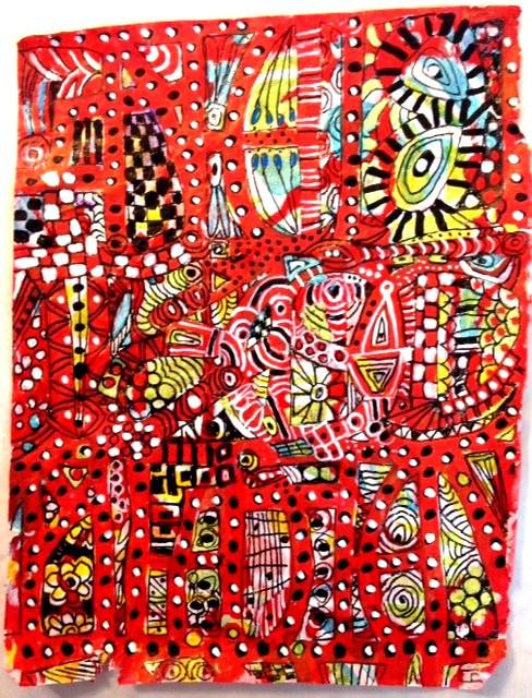 Stencil Girls, Suzi Dennis