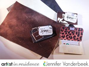 IMAGINE Crafts, Jennifer Vanderbeek, Vegan Leather Paper