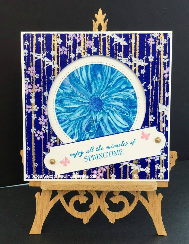 Pen and Ink Stamps by Josephine Kimberling for Impress Stamps, IMAGINE Crafts' Memento Inks by Tsukineko, IMAGINE Crafts' Brilliance Pigment Inks by Tsukineko, Die-namics Steel Dies, Spellbinders, Washi Paper