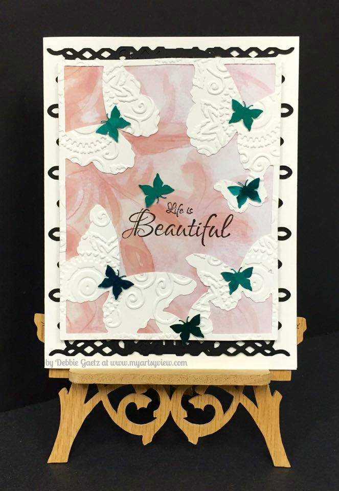 Memory Box, Spellbinders, Magenta Style, IMAGINE Crafts, Stick It! Adhesive Sheet, Couture Creations
