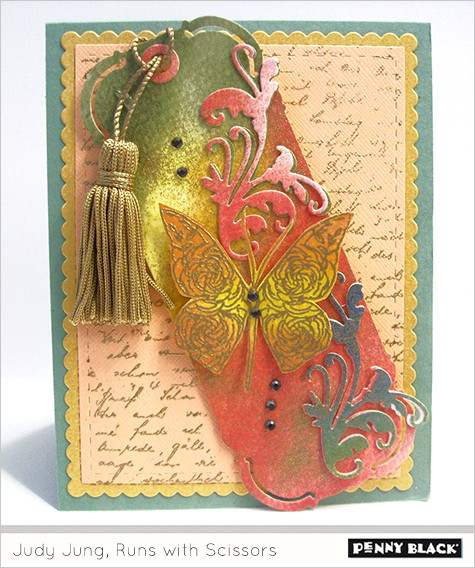 Penny Black Stamps, Judy Jung, Runs with Scissors