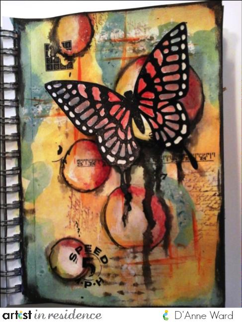 D'Anne Ward, IMAGINE Crafts, irRESISTible Craft Spray
