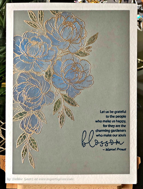 Gina K Designs, Hero Arts, Ranger, Tsukineko/IMAGINE Crafts, Watercolor, MISTI