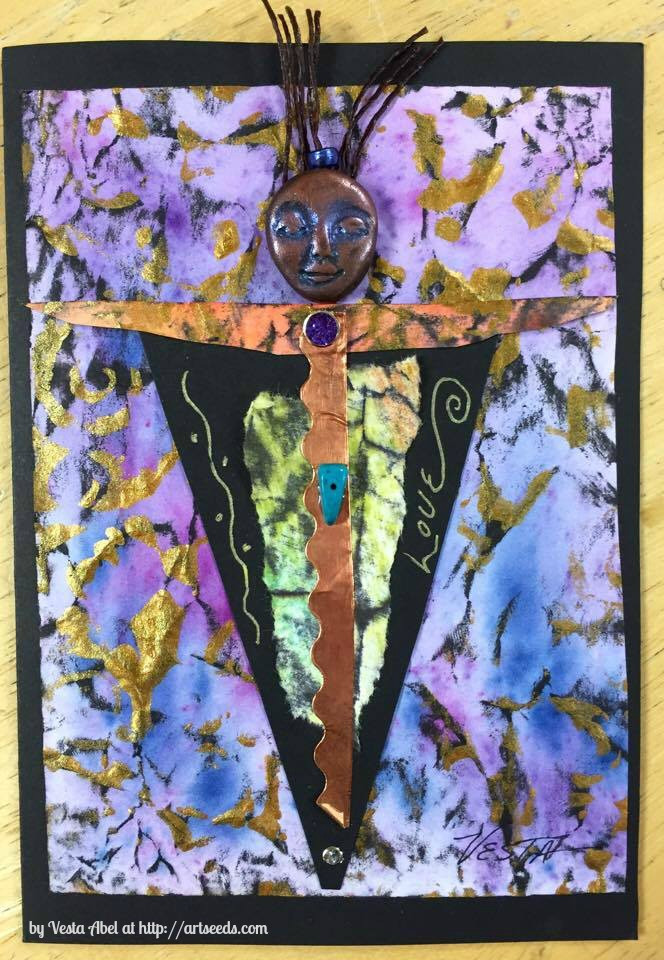 Vesta Abel, Spirit Doll Card