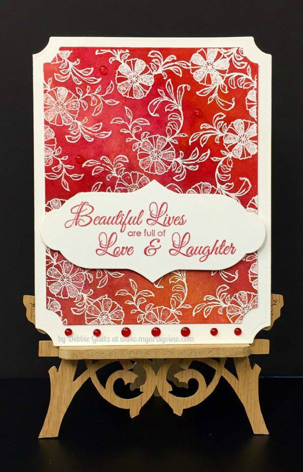 Hero Arts, Magenta Style, Spellbinders, Nuance, Queen & Co., Stampendous, Embossing, IMAGINE Crafts, Memento Dye Ink, Watercolor