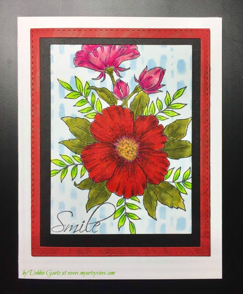 Magenta Style, Memory Box, Tombow Markers, Tsukineko Memento Dye Inks