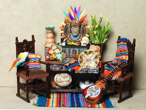 Mexican Folk Table