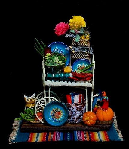Mexican Fiesta Cart
