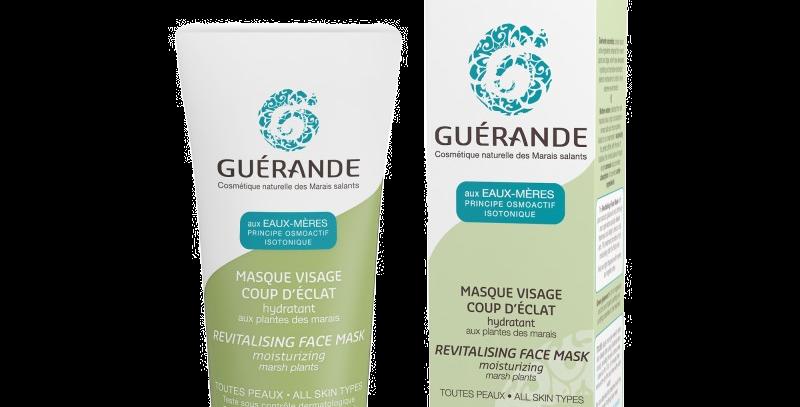 Masque Visage coup d'Eclat Hydratant - Guerande - 60ml