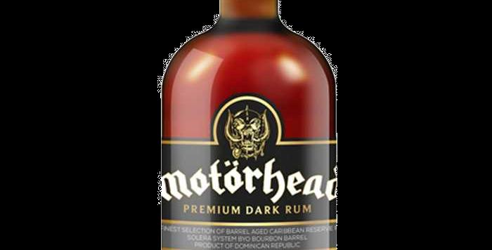 Rhum Motörhead Dark Premium 40° 70cl