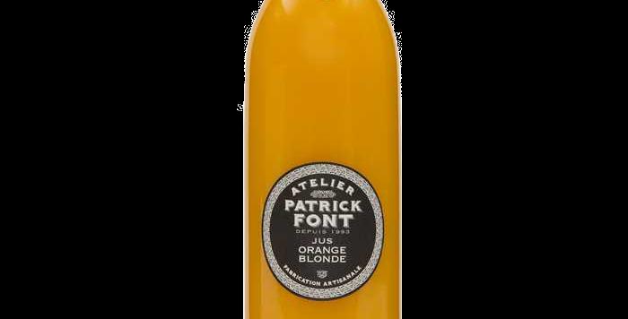 Patrick Font jus d'orange blonde - 1 Litre