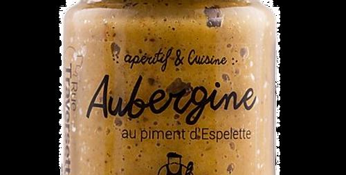 Aubergine au Piment d'Espelette - 90 gr